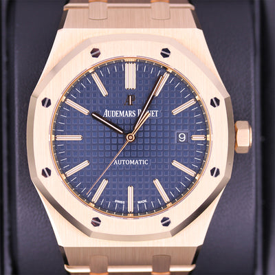 Audemars Piguet Royal Oak 41mm 15400OR Blue Dial Pre-Owned