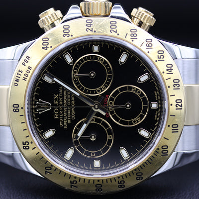 Rolex Daytona 40mm 116523 Black Dial Pre-Owned