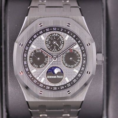 Audemars Piguet Royal Oak Perpetual Calendar 41mm 26579CE Slate Grey Dial Pre-Owned