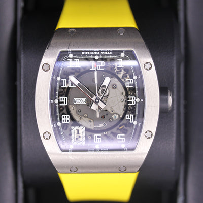 Richard Mille RM-005 White Gold 38mm Overworked Dial Pre-Owned