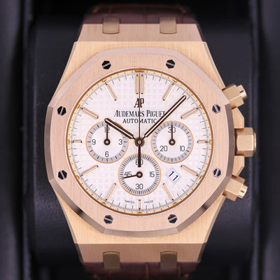 Audemars Piguet Royal Oak Chronograph 41mm 26320OR White Dial Pre-Owned
