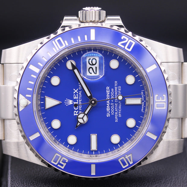 Rolex Submariner Date 40mm 116619LB Blue Dial