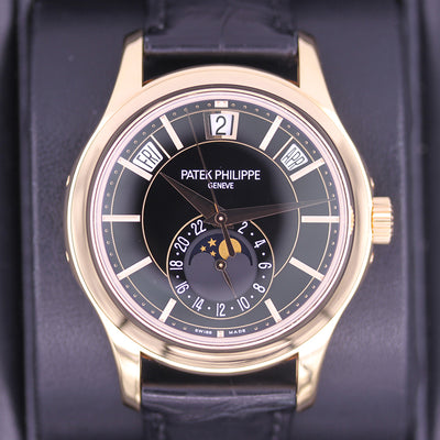 Patek Philippe Annual Calendar Complication 40mm 5205R Black Dial Pre-Owned