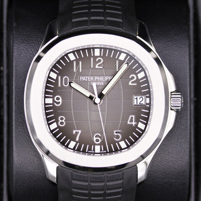 Patek Philippe Aquanaut 40mm 5167A-001 Black Dial Pre-Owned