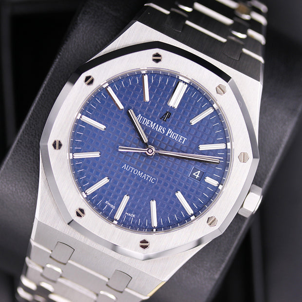 Audemars Piguet Royal Oak 41mm 15400ST.OO.1220ST.03 Blue Dial Pre-Owned
