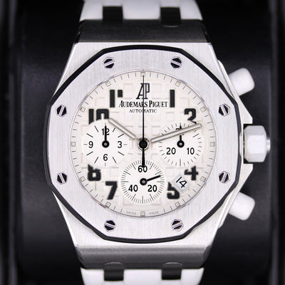 Audemars Piguet Royal Oak Offshore Chronograph 37mm 26283ST White Dial Pre-Owned
