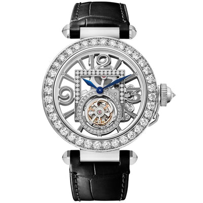 Cartier Pasha De Cartier 41mm HPI01435 Overworked Diamond Dial