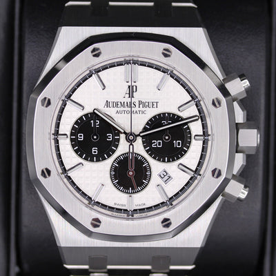 Audemars Piguet Royal Oak Chronograph 41mm 26331ST White Dial Pre-Owned