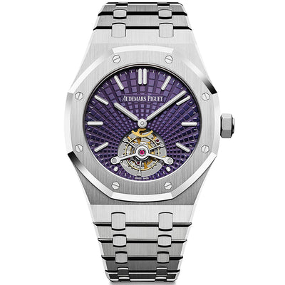 Audemars Piguet Limited Edition Royal Oak Tourbillon Extra-Thin 41mm 26522ST Purple Dial