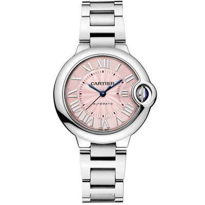 Cartier Ballon Bleu De Cartier 33mm W6920100 Pink Dial