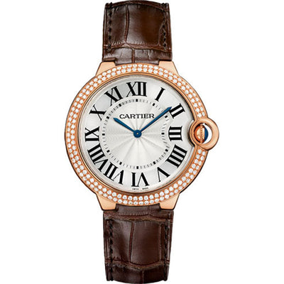 Cartier Ballon Bleu De Cartier 40mm WE902055 Silver Dial