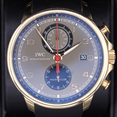 IWC Portugieser Yacht Club 45mm IW390209 Ardoise Dial Pre-Owned