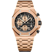 "Audemars Piguet ""Brick"" Royal Oak Offshore Chronograph 42mm 26470OR Black Dial-First Class Timepieces"
