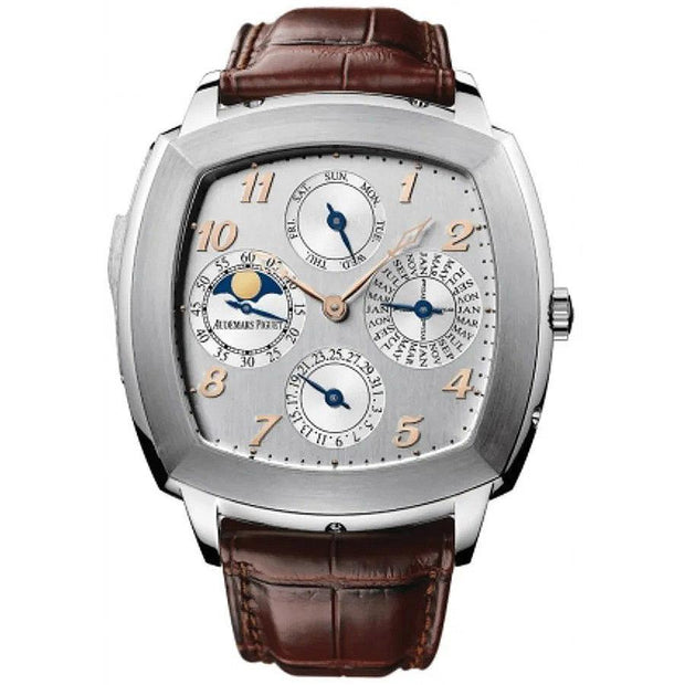 Audemars Piguet Classic Tradition Perpetual Calendar 50mm 26052BC Silver Dial-First Class Timepieces