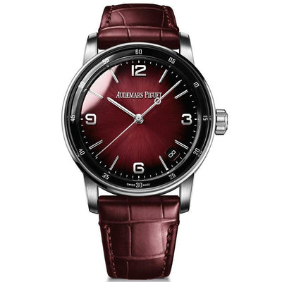 Audemars Piguet Code 11.59 41mm 15210BC Burgundy Dial-First Class Timepieces