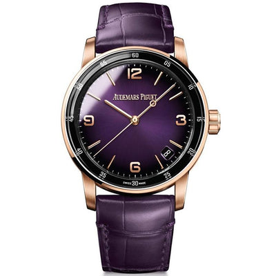 Audemars Piguet Code 11.59 41mm 15210OR Purple Dial-First Class Timepieces