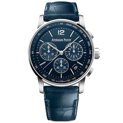 Audemars Piguet Code 11.59 Chronograph 41mm 26393BC Blue Dial-First Class Timepieces