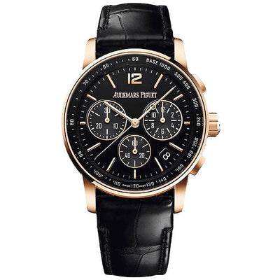 Audemars Piguet Code 11.59 Chronograph 41mm 26393OR Black Dial-First Class Timepieces