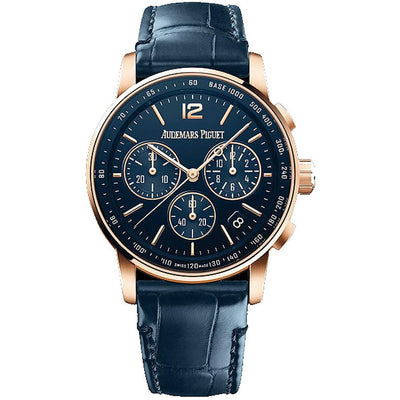 Audemars Piguet Code 11.59 Chronograph 41mm 26393OR Blue Dial-First Class Timepieces