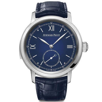 Audemars Piguet Jules Minute Repeater Complication 43mm 26590PT Blue Dial - First Class Timepieces