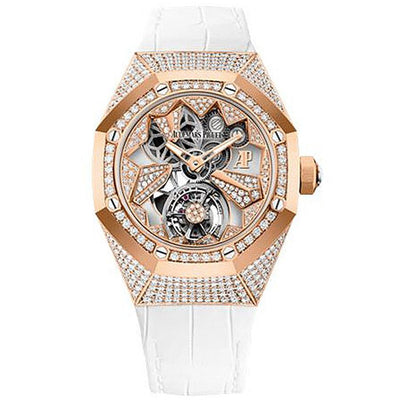 Audemars Piguet Limited Edition Royal Oak Concept Flying Tourbillon 38mm 26227OR Overworked Diamond Dial-First Class Timepieces