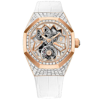 Audemars Piguet Limited Edition Royal Oak Concept Flying Tourbillon 38mm 26228OR Overworked Diamond Dial-First Class Timepieces