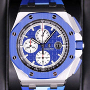 Audemars Piguet Limited Edition Royal Oak Offshore Chronograph 44mm 26400SO Blue Dial-First Class Timepieces