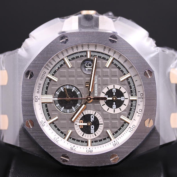 "Audemars Piguet Limited Edition Royal Oak Offshore Chronograph ""Pride Of Germany"" 44mm 26415CE Grey Dial-First Class Timepieces"