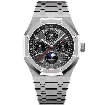Audemars Piguet Limited Edition Royal Oak Perpetual Calendar 41mm 26609TI Slate Grey Dial-First Class Timepieces