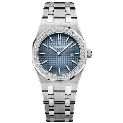 Audemars Piguet Limited Edition Royal Oak Quartz 33mm 67651IP Blue Dial-First Class Timepieces