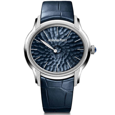 Audemars Piguet Millenary Frosted Philosophique 39mm 77266BC Blue Dial-First Class Timepieces