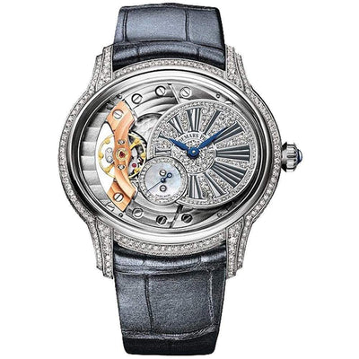 Audemars Piguet Millenary Hand-Wound 39mm 77248BC Overworked/Diamond Dial - First Class Timepieces