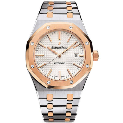 Audemars Piguet Royal Oak 34mm 77350SR Silver Dial-First Class Timepieces