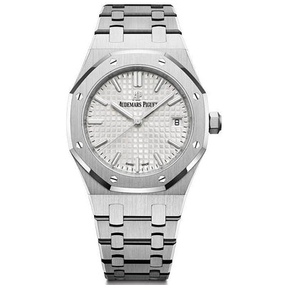 Audemars Piguet Royal Oak 34mm 77350ST Silver Dial-First Class Timepieces