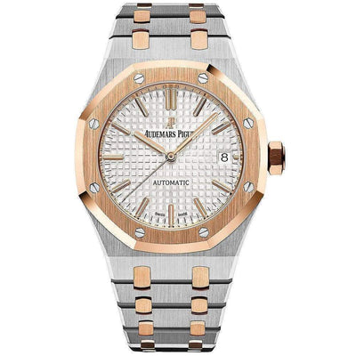 Audemars Piguet Royal Oak 37mm 15450SR Silver Dial-First Class Timepieces