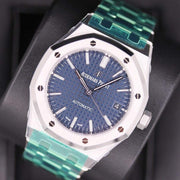 Audemars Piguet Royal Oak 37mm 15450ST Blue Dial-First Class Timepieces