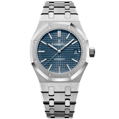Audemars Piguet Royal Oak 37mm 15450ST Blue Dial - First Class Timepieces