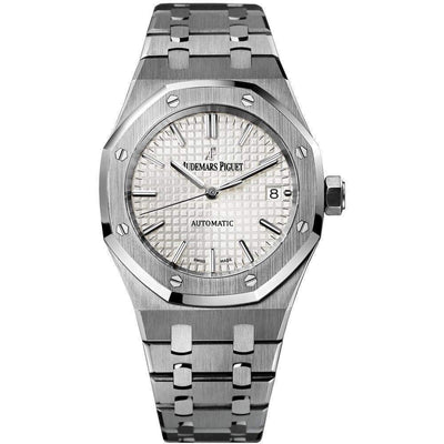 Audemars Piguet Royal Oak 37mm 15450ST White Dial - First Class Timepieces