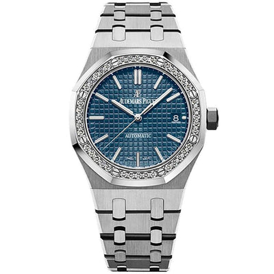 Audemars Piguet Royal Oak 37mm 15451ST Blue Dial - First Class Timepieces