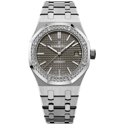 Audemars Piguet Royal Oak 37mm 15451ST Grey Dial-First Class Timepieces