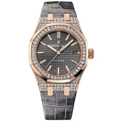Audemars Piguet Royal Oak 37mm 15452OR Slate Grey Dial-First Class Timepieces