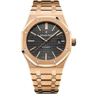 Audemars Piguet Royal Oak 41mm 15400OR Black Dial-First Class Timepieces