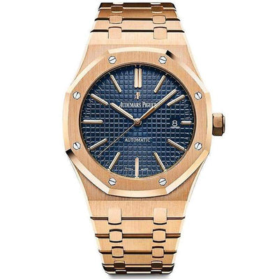 Audemars Piguet Royal Oak 41mm 15400OR Blue Dial-First Class Timepieces