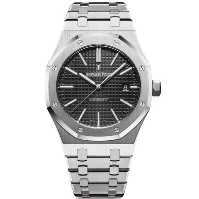 Audemars Piguet Royal Oak 41mm 15400ST Black Dial-First Class Timepieces