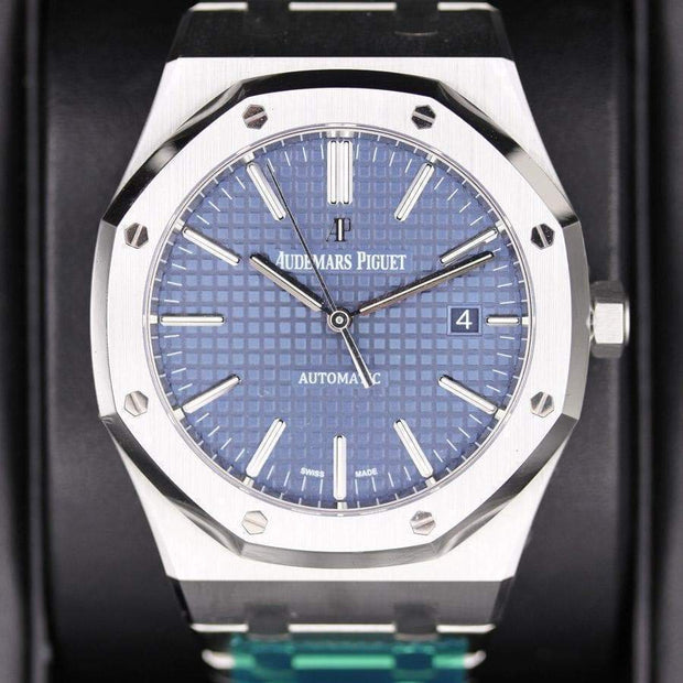 Audemars Piguet Royal Oak 41mm 15400ST Blue Dial-First Class Timepieces