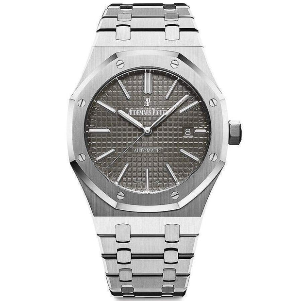 Audemars Piguet Royal Oak 41mm 15400ST Grey Dial - First Class Timepieces