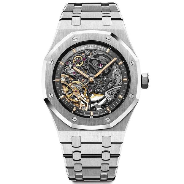 Audemars Piguet Royal Oak 41mm 15407ST Overworked Dial-First Class Timepieces