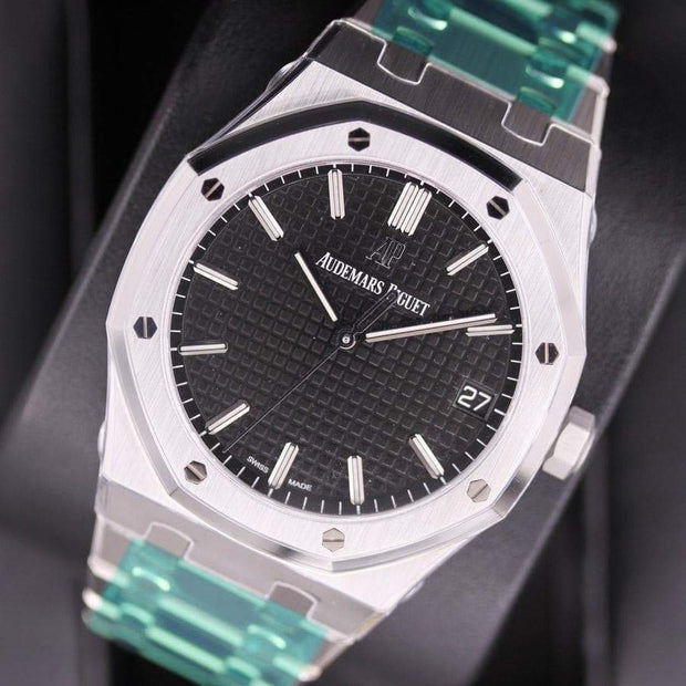 Audemars Piguet Royal Oak 41mm 15500ST Black Dial-First Class Timepieces