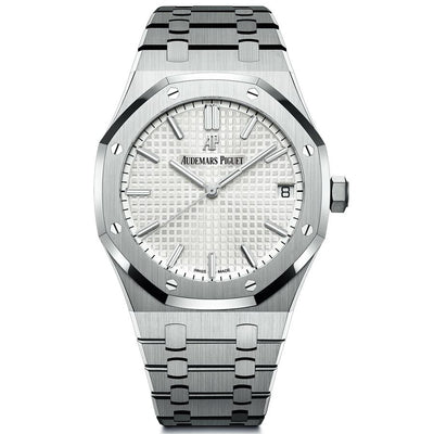 Audemars Piguet Royal Oak 41mm 15500ST White Dial-First Class Timepieces