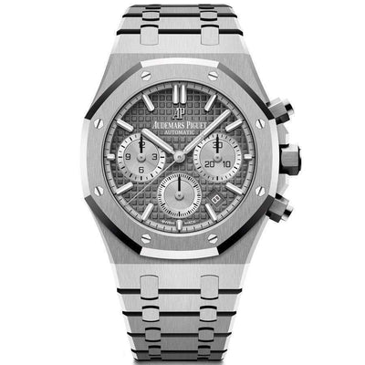 Audemars Piguet Royal Oak Chronograph 38mm 26315ST Grey Dial-First Class Timepieces